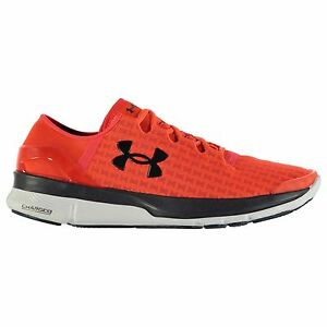 Under Armour Speedform Turbulence Running Shoes Mens OrWht Trainers Sneakers
