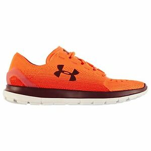 Under Armour Speedform SlingRide Fade Running Shoes Mens OrRd Trainers Sneakers