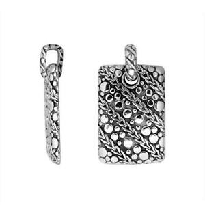 Sterling Silver Beautiful Designer Pendant With Plain Silver AP-9046-S
