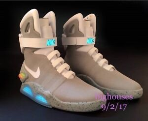 NIKE AIR MAG 2016 SELF LACING # 72 OF 89 SIZE 11 BRAND NEW IN BOX RARE !!