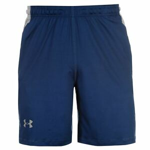 Under Armour 8in Raid Shorts Mens Navy Gym Fitness Lifestyle Sportswear