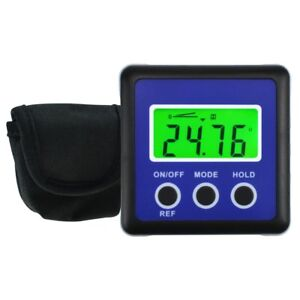 Digital Protractor Angle Finder Bevel Box Inclinometer Magnetic Base Carpentry $29.90
