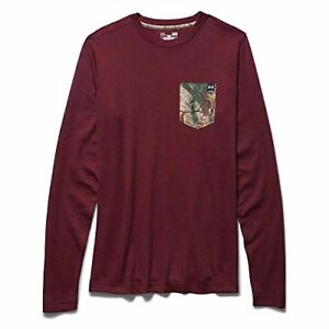 Under Armour Borderland Waffle - Men's Deep Red  Realtree Ap Xtra Large