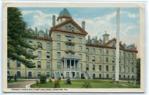 Pennsylvania Military College Chester PA 1916 postcard $6.50