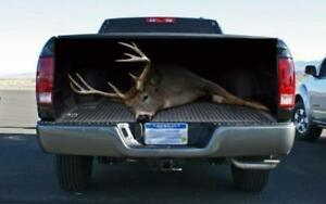 White Tail Deer Tailgate Wrap Vinyl Graphic Decal Sticker Wrap