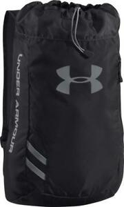 Under Armour Trance Sack Backpack 1248867-001 Black $35.00 Retail