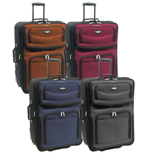 Amsterdam 29quot; Large Lightweight Expandable Rolling Luggage Suitcase Travel Bag