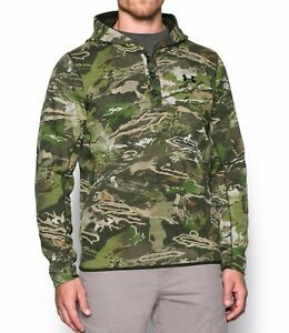 NWOT UNDER ARMOUR Men's Camo Stealth Reaper Hunting Hoodie SZ Extra Large