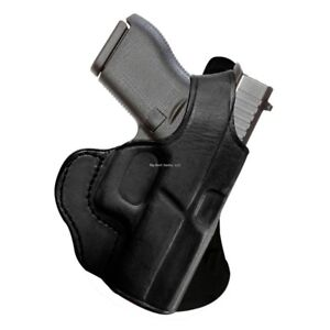 TAGUA GUNLEATHER ROTATING PADDLE HOLSTER - GLOCK 19-23-32. BLACK  RIGHT HAND
