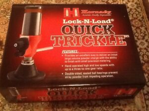 Hornady Lock N Load Quick Trickle ~ BRAND NEW!!!