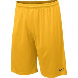 NWT Nike Men's Team Fly Dri-Fit Shorts Bright Gold - Sizes MED & XL
