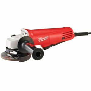 Milwaukee 6140 30 120V AC 7.5 Amp 4 1 2 Inch Small Angle Grinder with Flange $94.00