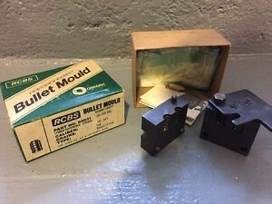 RCBS 38-148-WC DOUBLE CAVITY BULLET MOLD 148 Grain Wadcutter Box Instructions