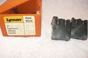 Lyman 358242 Bullet mold round nose in great condition. 2 cavity mold