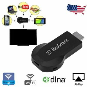 Hot 1080p MiraScreen WiFi HDMI TV Receiver Airplay For Iphone 6S 7 6Plus 7Plus