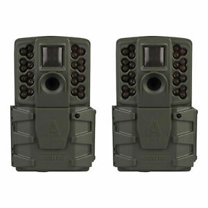 (2 Pack) Moultrie A-25i A25i Infrared IR 12 MP Game Trail Stealth Camera Cam