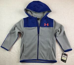 Brand New Under Armour 4T Full Zip Cozy Hoodie - Free Shipping