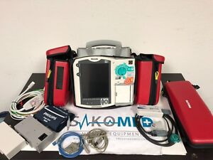 PHILIPS HeartStart MRx M3535A 12 Lead Pacing SpO2 NIBP and Co2