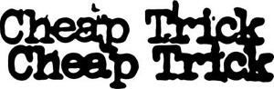 Cheap Trick Decal Sticker Free Shipping