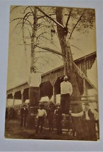 1892 Hanging of Ruggles Brothers in Redding CA