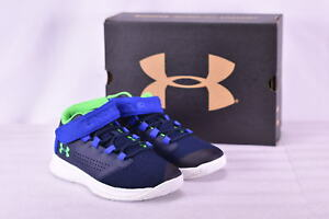 Boy's Under Armour  1299029410 Get B Zee Basketball Shoes Midnight Navy