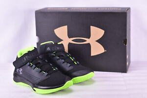 Boy's Under Armour 1299028002 Get B Zee Basketball Shoes Black