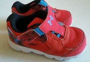 UNDER ARMOUR RUNNING SHOES TODDLER BOYS SIZE 6K. NWOB. Display