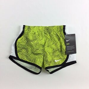 Nike 2T Neonblack Toddler Girls Dry-Fit Active Shorts Running Casual New