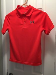 Under Armour Boys Polo Dry Fit Shirts X 3 Size Youth Medium