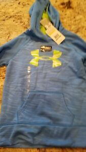 NWT Youth Girls Sweatshirt UNDER ARMOUR Large Storm Youth Cold Gear