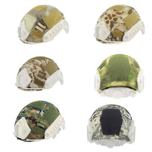 Camouflage Tactical Helmet Fast Helmet Cover Outdoor Headgear Accessory