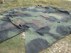 Nice Woodland Cargo Cover for Military Vehicle M1078 ? M923 ? not sure No #