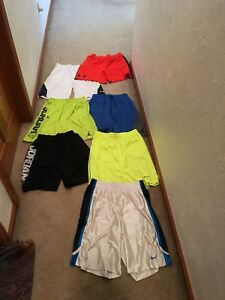 Mens Basketball Shorts 6 Large 1 XL Nike Under Armour Jordan