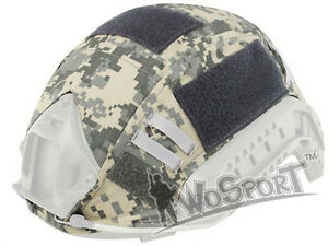 Tactical Military Hunting Helmet Cover for Ops-Core Fast Helmet BJPJMH ACU