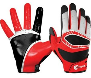 Cutters Rev Pro 3D Premium Adult Football Receiver Gloves New