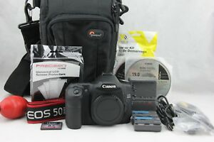 Canon EOS 50D 15.1MP DSLR Camera Body Only. Very Good Condition. Fast Shipping
