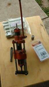 Lyman  Ideal Lubricator & Sizer #45 w two dies top punch wrench & lube sticks