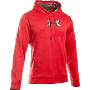 NEW!! Under Armour Men's Storm Caliber Hunting RedCamo Hoodie Sz 3XL
