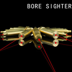 Red Dot Laser For Scope CAL Hunting Brass Cartridge Bore Sighter Boresight US
