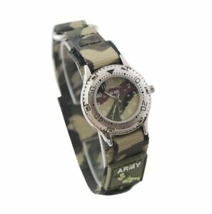Kids Army Military Camo Camouflage Wrist Watch Ideal Gift For Little Soldiers