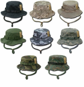 Military Style Boonie Hunting Army Fishing Outdoor Hiking Bucket Jungle Hat