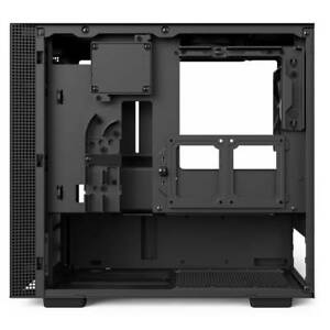 NZXT H200i No Power Supply Mini-ITX Case w Lighting and Fan Control (Matte