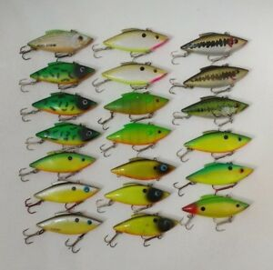 (20) Bill Lewis Rattle Trap 12 oz Lipless Crankbaits - Fishing Lures Lot of 20