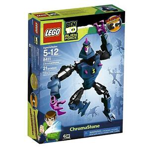 NEW SEALED  LEGO 8411 Ben 10 Alien Force CHROMASTONE  NIB