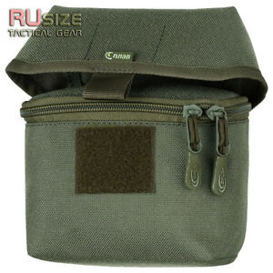 Pouch for box of hunting rifle cartridges 1270 MOLLEPALS Cordura Bag Ammo Camo