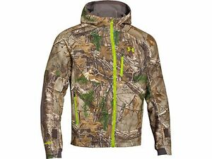 Under Armour Storm Gore Tex Windstopper Camo Jacket & Pants Combo Realtree Xtra