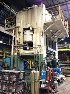 ​1200 Ton Capacity USI Clearing Straight Side Press For Sale