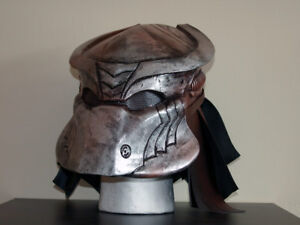 Predator Style Airsoft Helmet - Face Airsoft Costume DJ Cosplay Mask