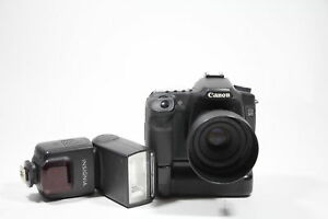 Canon EOS 50D & Canon 50mm 1.8 with Grip & Lenses Insignia Flash 4GB Card
