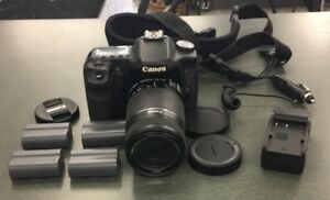 Canon EOS 50D 15.1 MP Digital SLR Camera 55-250mm Lens